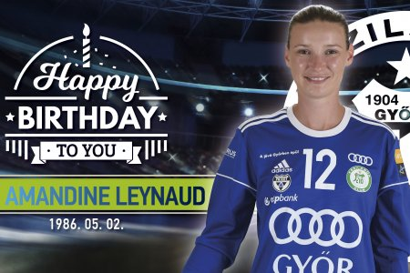 Happy birthday, Amandine Leynaud!