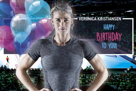 Happy birthday, Veronica Kristiansen!