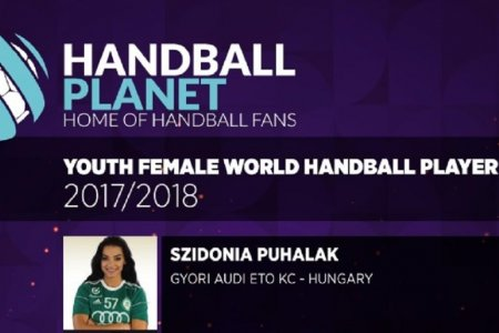Szidónia Puhalák among the best young players