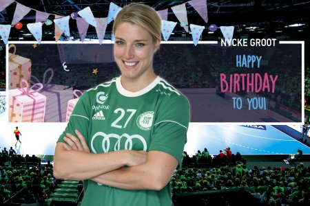 Happy birthday, Nycke Groot!