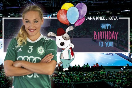 Happy birthday, Jana!