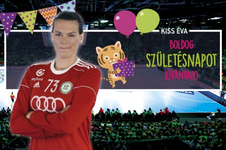 Happy birthday, Évi Kiss!