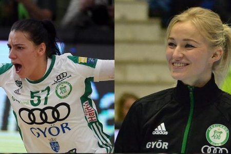Puhalák Szidonia the Rookie and Stine Oftedal the Best Scorer