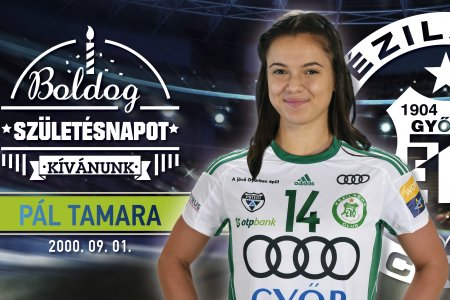 Happy birthday, Tamara Pál!