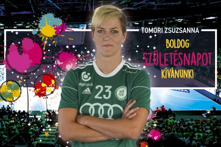 Happy birthday, Zsuzsanna Tomori!